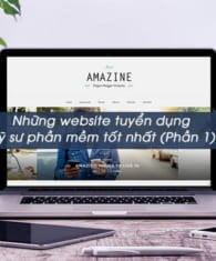 Tìm hiểu các website tuyển dụng kỹ sư phần mềm tốt hiện nay